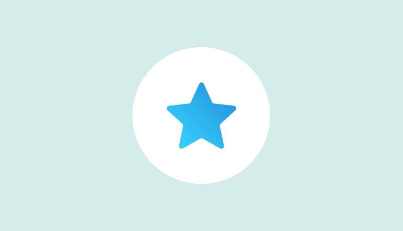 青い星マークのスーパーライク